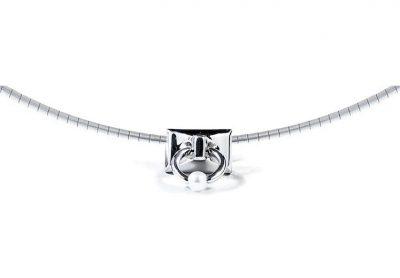 Pierced Mini Signature Necklace