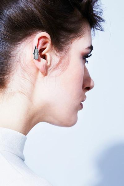 Drill Bit Ear Cuff