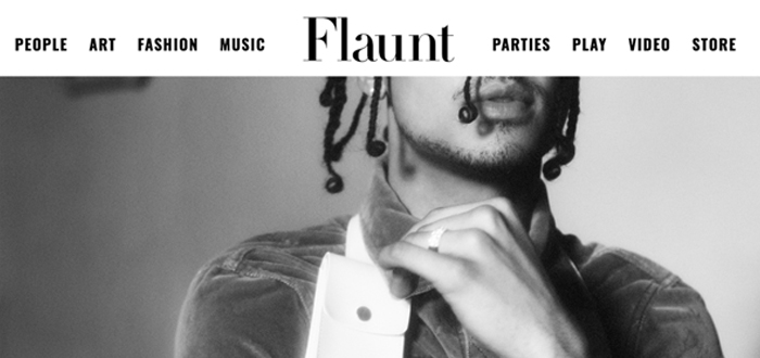 "| Flaunt Magazine: ""A Conversation With Quincy"", 06.21.18 